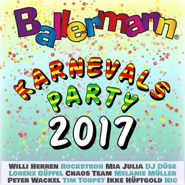 Ikke Hüftgold: Ballermann Karnevalsparty 2017